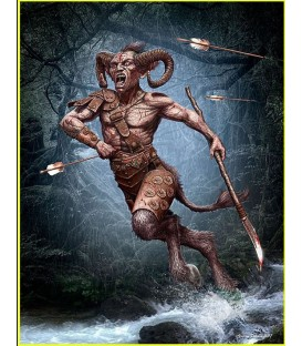 Ancient Greek Myths series - Satyr-24024