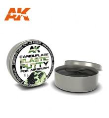 AK8076 Camouflage Elastic Putty 80 gr. Camouflage Masking Putty