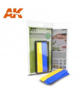 AK8208 GreenPower Masilla 2 Componentes 2 x 10 cms