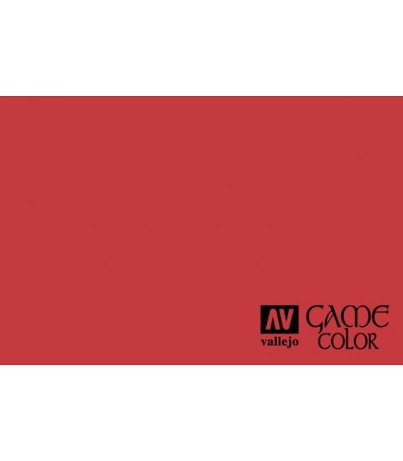 72.086 Tinta Roja Game Color 17ml.