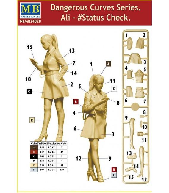 Dangerous Curves Series, Ali - Status Check-24028