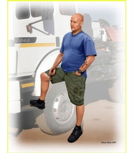 Truckers series. Jimmy (Tex) Haywood-24043