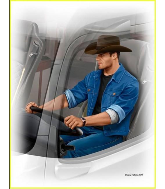 Truckers series. Stan (Long Haul) Thompson-24042