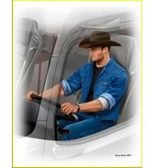 Truckers series. Mike (Beach Boy) Barrington-24044