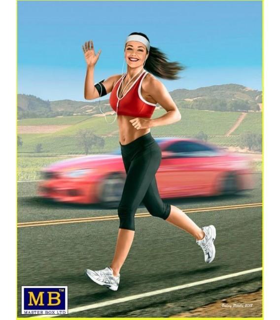 Jogging some miles. Tyra-24050