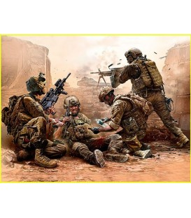 Under Fire. Modern US Infantry -35193