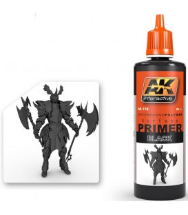 AK178 Black Primer 60 ml.