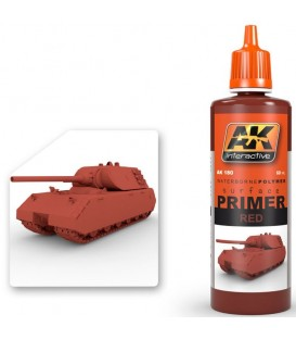 AK180 Red Primer 60 ml.