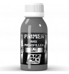 AK758 Grey Primer and microfiller 100 ml.