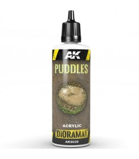 AK8028 Puddles - Bassals 60 ml.