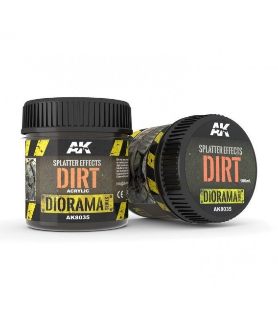 AK8035 Splatter Effects Dirt 100 ml.