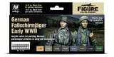 Set Vallejo Model Color 8 u. (17 ml.) German Fallschirmjäger Early WWII