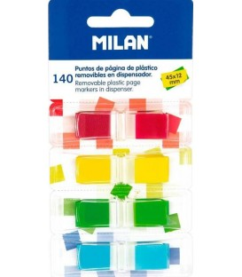 Marque-pages amovibles Milan 45x12 mm.
