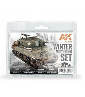AK4270 Winter Weathering set 4 u. 17/35 ml.