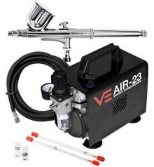 AIR-23 + Basic 03 airbrush kit + 0,2 and 0,5