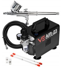 AIR-23 + Basic 03 airbrush kit + 0,2 and 0,5