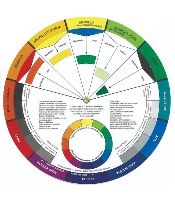 Disco mezcla colores