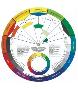 Disco mistura cores