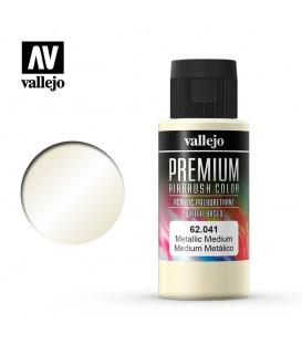 62041 Metallic Medium Vallejo Premium Color (60 ml.)