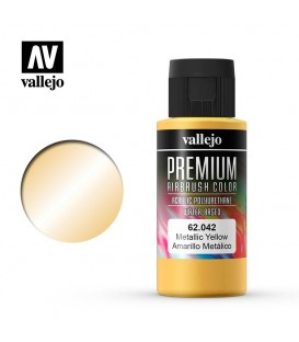 62042 Amarelo Metalico Vallejo Premium Color (60 ml.)