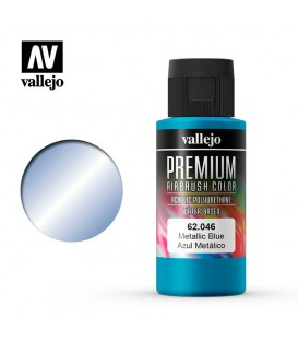 62046 Blau Metalic Vallejo Premium Color (60 ml.)