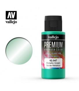 62047 Metallic Green Vallejo Premium Color (60 ml.)
