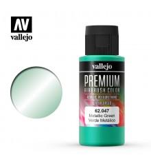 62047 Verd Metalic Vallejo Premium Color (60 ml.)