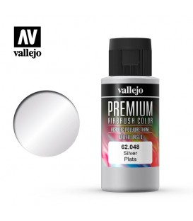 62048 Silver Vallejo Premium Color (60 ml.)