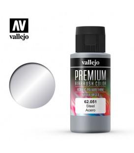 62051 Acciaio Vallejo Premium Color (60 ml.)