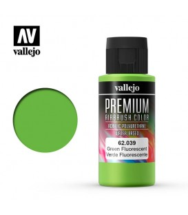 62039 Verd Fluo Vallejo Premium Color (60 ml.)