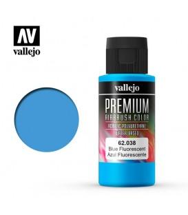 62038 Azul Fluo Vallejo Premium Color (60 ml.)