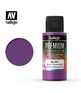 62037 Violeta Fluo Vallejo Premium Color (60 ml.)