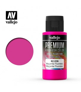 62036 Magenta Fluo Vallejo Premium Color (60 ml.)