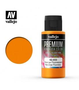 62033 Naranja Fluo Vallejo Premium Color (60 ml.)