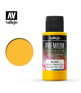 62032 Groc Daurat Fluo Vallejo Premium Color (60 ml.)