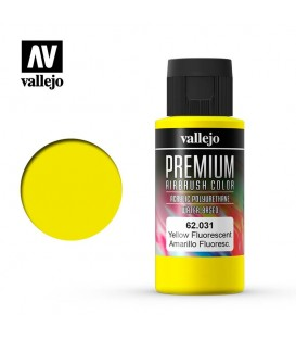 62031 Amarillo Fluo Vallejo Premium Color (60 ml.)