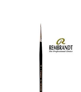 Pincel Rembrandt Series 110 Pêlo de Marta Vermelha 0