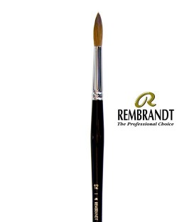 Pincel Rembrandt Series 110 Pêlo de Marta Vermelha 12