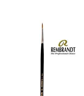 Pincel Rembrandt Series 110 Pêlo de Marta Vermelha 2