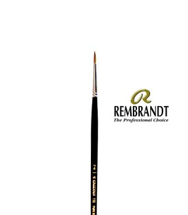 Rembrandt Series 110 Red Sable Brush 2
