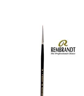 Pincel Rembrandt Series 110 Pêlo de Marta Vermelha 3/0