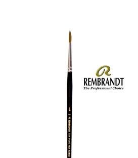 Pincel Rembrandt Series 110 Pelo de Marta Roja 12