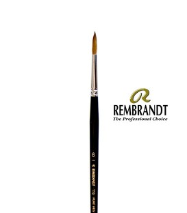 Pennello Rembrandt Series 110 Pelo di Martora Rossa 6
