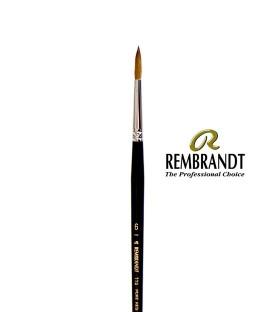 Pincel Rembrandt Series 110 Pêlo de Marta Vermelha 6