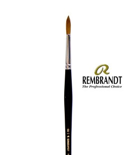 Rembrandt Series 110 Red Sable Brush 8