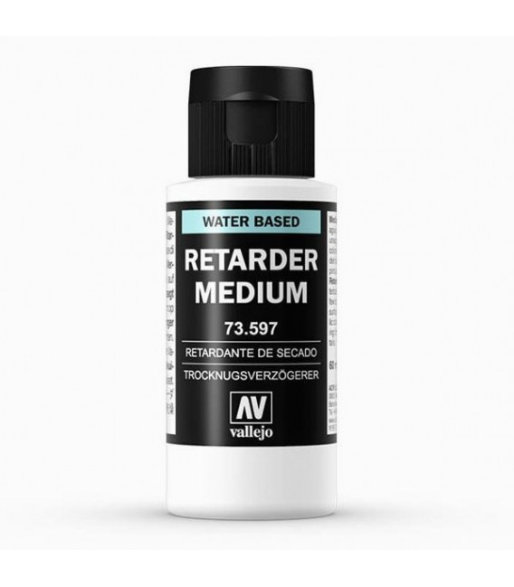 73.597 Drying acrylic retarder Vallejo 60 ml.