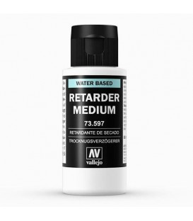 73.597 Medium acrílico retardante Vallejo 60 ml.