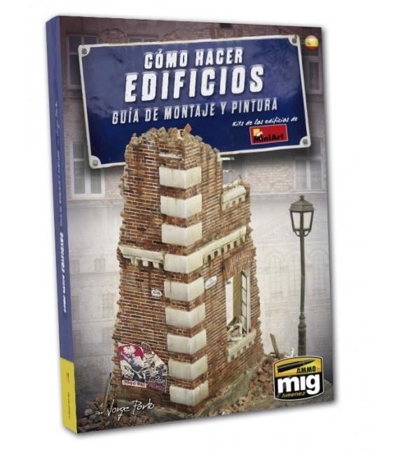 """Llibre Castellano """"Cómo hacer edificios guía de Montaje y Pintura"""""""