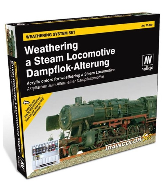 Set Vallejo Train Weathering (Model Color)