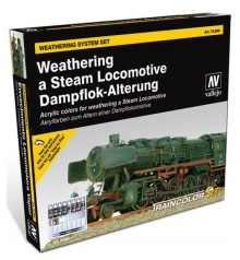 Set Vallejo Train Weathering (Model Color)